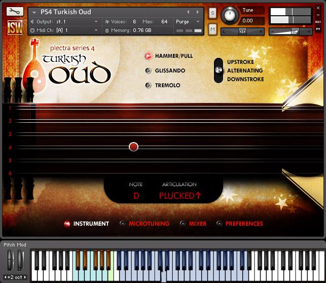 土耳其烏德琴Impact Soundworks Plectra Series 4 - Turkish Oud-乐球网
