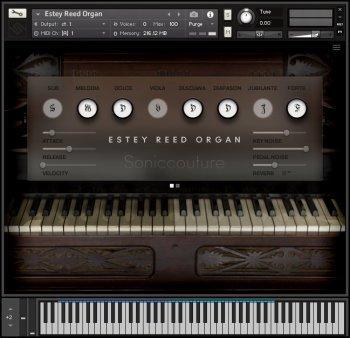 簧片泵风琴 – Soniccouture Estey Reed Organ-乐球网