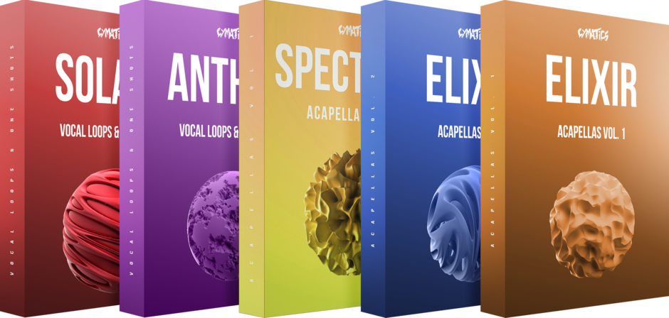 高质量大型人声 – Cymatics – Ultimate Vocal Collection-乐球网