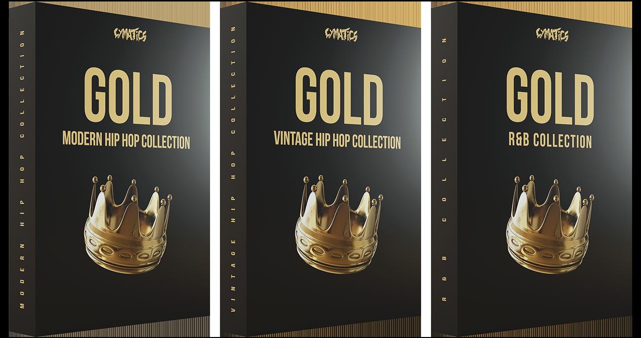 Cymatics四月最新超强采样包——Cymatics Gold Hip Hop Production Suite-乐球网