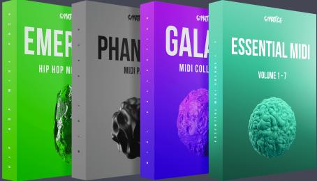 Midi采样包——Cymatics—The Ultimate MIDI Collection-乐球网