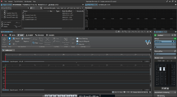 音频母带处理软件 – Steinberg WaveLab Elements 10.0.40-乐球网