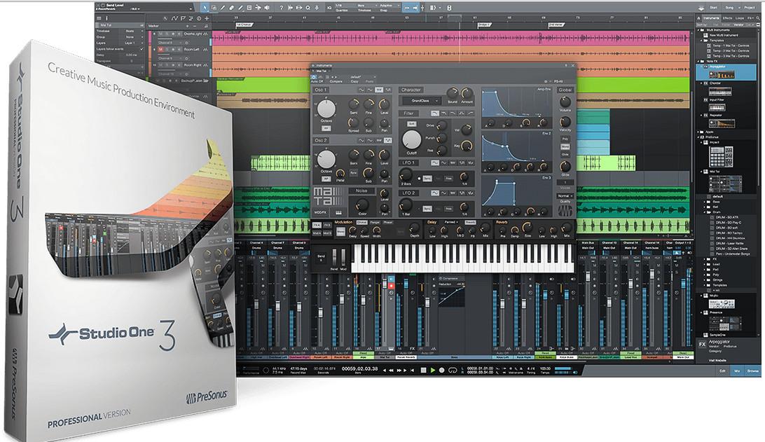 Studio One 3.0.2 – 划时代的音乐制作软件-乐球网