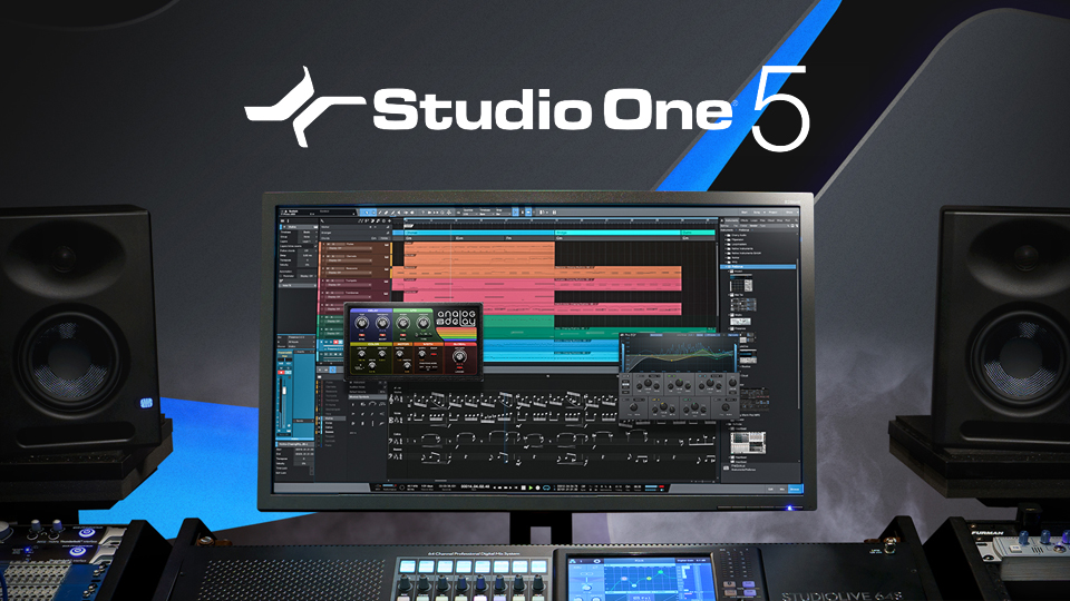 PreSonus Studio One 5 Professional v5.0.2 Incl Patched and Keygen-R2R-乐球网